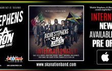 RICHIE STEPHENS & THE SKA NATION BAND BANNER